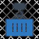 Crane Hook Container Icon