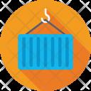 Cargo Container Shipping Icon