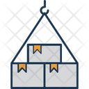 Container Lifting Cargo Container Icon