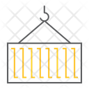 Crane Container Lift Icon