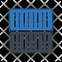 Container Shipping Cargo Icon