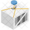 Logistics Delivery Container Icon