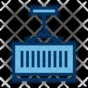 Crane Container Loading Icon