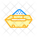 Container Construction Garbage Icon