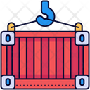 Container Containers Crane Icon