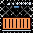 Container Cargo Logistics Icon