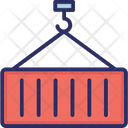 Container Logistics Shipping Icon
