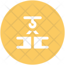 Container Lifter Weight Icon
