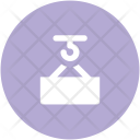 Container Lifter Material Icon