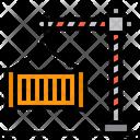 Cargo Logistics Container Icon