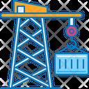 Container Crane Icon