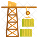 Container Crane Cargo Crane Crane Icon