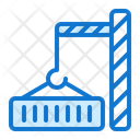 Container Truck Delivery Icon