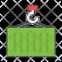 Container Lifting Crane Icon