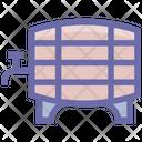 Container For Liquid Barrel Container Icon