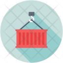 Crane Lifter Weight Icon