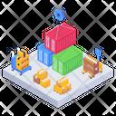Depot Warehouse Unit Stock Icon