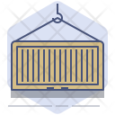 Container Logistics Packet Icon