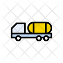 Container Truck Oil Icon