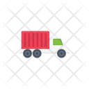 Truck Container Shipping Icon