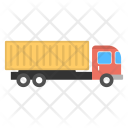 Container Truck With Icon