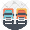 Container Trucks Icon