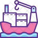 Containers Transportation Icon
