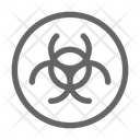 Contamination Toxic Pollution Icon