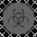 Contamination Toxic Pollution Icon