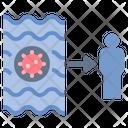 Contamination Transmission Pathogen Icon