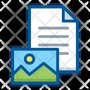 Content Document Image Icon