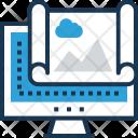 Content Landscape Web Icon