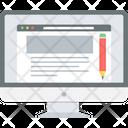 Content Web Marketing Icon