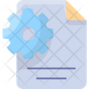 Content Management Files Icon