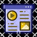 Content Web Website Icon