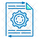 Content Management Gear Icon