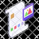 Content Page Layout Landscape Icon