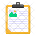 Draft Content Page Icon