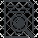 Content Data Document Icon