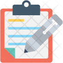Content Writing Clipboard Icon