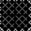 Content Border All Icon