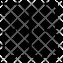 Content Border Horizotal Icon