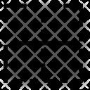 Content Border Vertical Icon
