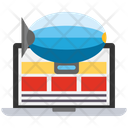 Content Delivery Computer Content Management System Icon