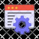 Content Development Content Management Content Setting Icon