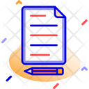 Content Editing Content Writing Icon