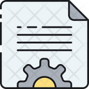 Content Management Content Writing Copywriting Icon