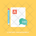 Content Management Icon
