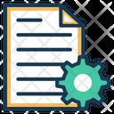 Content Management Blog Web Icon