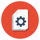 Content Management Web Content Content Configuration Icon
